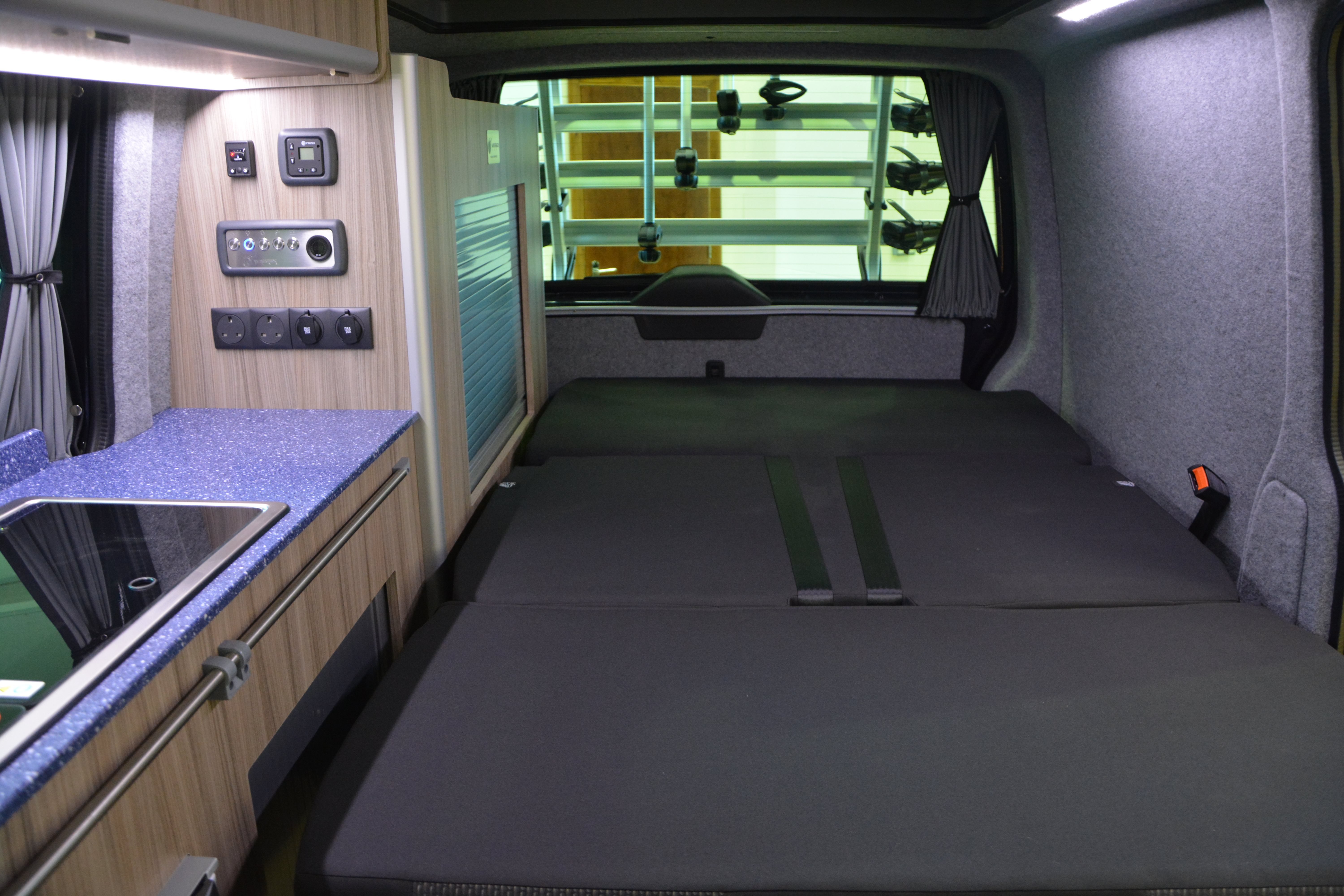 VW T6.1 Rib Bed Position