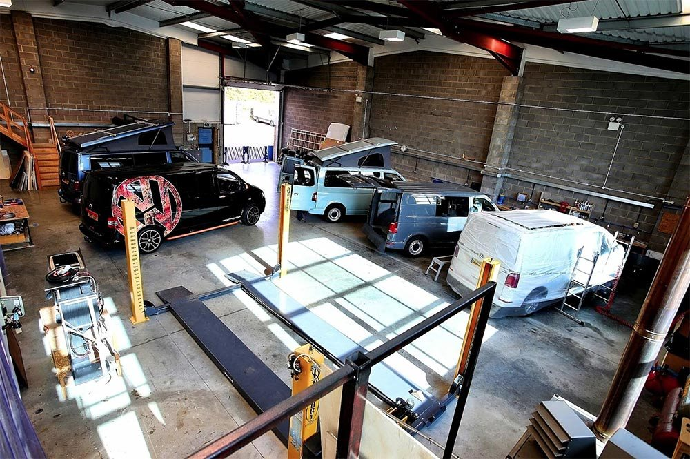 Wessex Vans Workshop