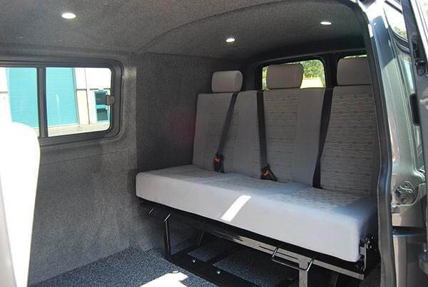 VW Camper Bed Fitting