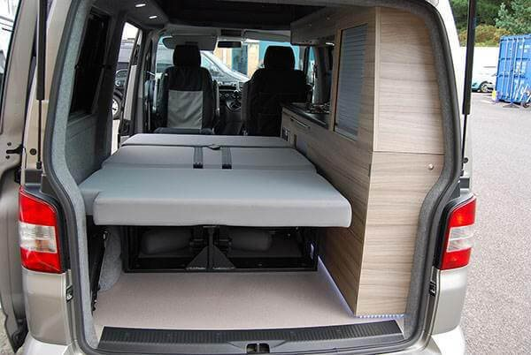 VW Camper Bed