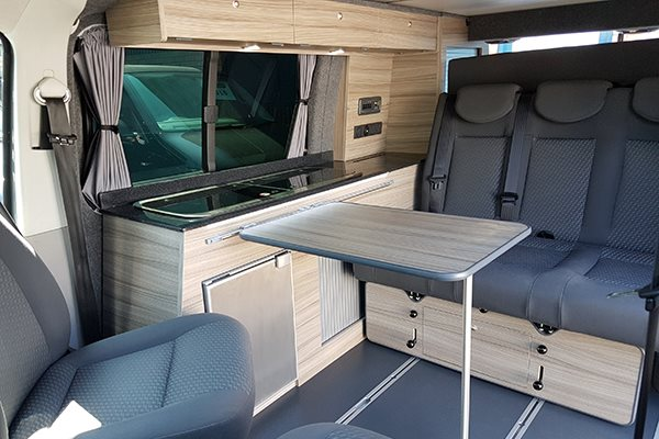 Camper Conversion Reimo Variotech