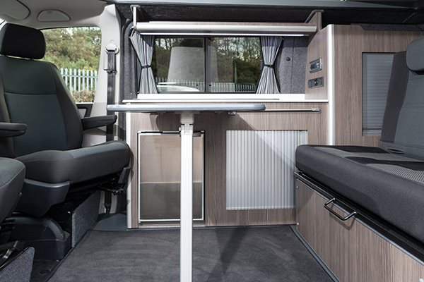 Camper Conversion Scot Bed