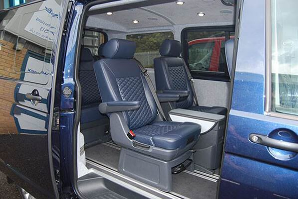 VW T5 Caravelle Conversion