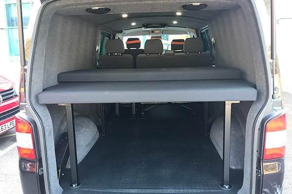 VW Transporter Kombi Bed