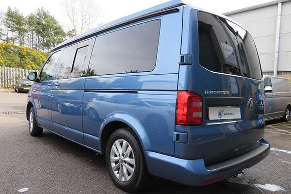 VW Transporter Window Fitting